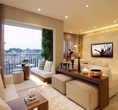 Uma prova de que é possível integrar ambientes perfeitamente Totalmente apaixonada!!! ❤️❤️❤️ - #sala #saladeestar #saladetv #varanda #sacada #design #decoração #arquitetura #novidades #Instagram #euqueronaminhacasa