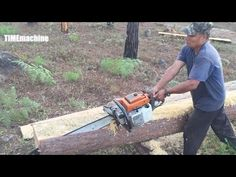Home Made Alaskan Chainsaw Mill Portable Chainsaw Mill, Wood Lumber, Small Engine, Outdoor Power Equipment, Engineering, Milling, Greenhouses, Oregon, Youtube