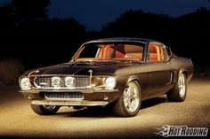 1967 Ford Mustang Shelby - Serious As A Heart Attack - Popular Hot Rodding - Hot Rod Network
