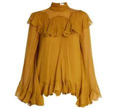 jaune safran : nos plus belles pièces en jaune safran - Elle