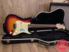 Fender Stratocaster Am Deluxe Sunburst