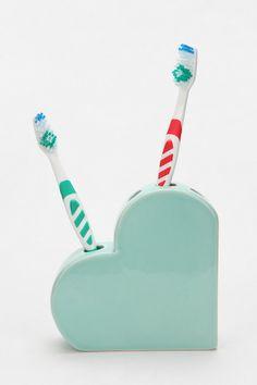 Mint Heart Toothbrush