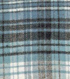 R09J331-0110 Primo Plaid Blue 100% cotton flannel