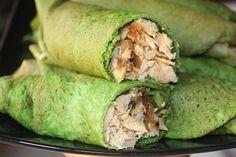 En Masmusculo.com te traemos semanalmente la mejores recetas fitness, hoy te presentamos estas Crepes de espianacas proteicas con pollo fitness