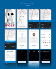 Buy V Avenue Mobile UI Kit for Photoshop by pixelbuddha_graphic on GraphicRiver. We're happy to introduce you V Avenue, an advanced mobile UI Kit with a strong focus on e-commerce created with a sic. Web Design, App Ui Design, User Interface Design, Flat Design, Design Ideas, Graphic Design, Mobile App Templates, Visual Hierarchy, Sketch Photoshop