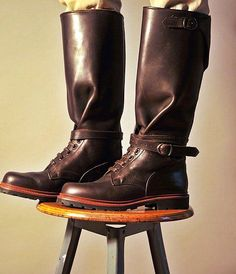 Ludwig Reiter hunting boot - not a current model, but quite an example.