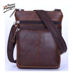 0081b1948c5 Men Bags Genuine Leather Sale Man Small Crossbody Shoulder Bag Vintage  Design Trendy Fashion, Fashion