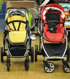 Good article comparing Britax B Ready & UPPAbaby Vista strollers