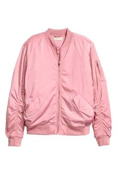 Top off your outfit with coats and jackets for women from H&M. From biker and jean jackets to trenches, bombers and parkas, shop for every season and style. Red Bomber Jacket, Flight Bomber Jacket, Pink Jacket, Blazer Jacket, Jacket Style, H&m Jackets, Jackets For Women, Outerwear Jackets, Sweatshirts
