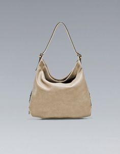 BUCKET BAG WITH BUCKLES - Handbags - TRF - ZARA Croatia (Hrvatska)