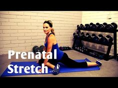 Prenatal Stretch Workout---Stretch and Relaxation for Any Trimester - YouTube