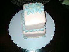 joint effort fondant cake