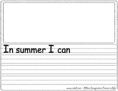 Printables Free Second Grade Language Arts Worksheets kindergarten writing prompts and paper on pinterest sentence starters free printouts worksheets first grade second in summer