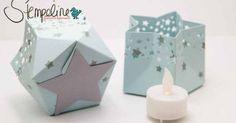 Liked on Pinterest: Windlicht mit dem Stanz- und Falzbrett für Geschenktüten und anderen Stampin Up! Materialien