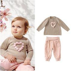 Próxima estación: pana & lana; rosa & beige. #BambiniAllaModa www.gigiotopo.com