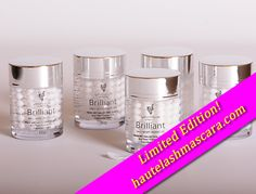 Limited Edition Brilliant moisturizer is GONE October 31, 2014! Get it quick before they sell out or November 1--whichever comes first.  Brilliant has been known by Younique presenters and customers to help with many skin conditions including   Psoriasis Eczema Rosacea Dark spots and circles Fine lines Stretch marks Scars Athletes foot  Get it now for just $39.00 or save by purchasing a Younique collection…