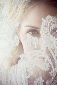 Through lace of dress. Roberto Valenzuela
