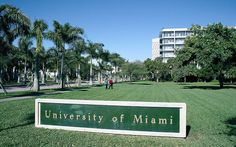 Entrance to the University of Miami. I can remember Mother going to sorority meetings on campus when I was very little.
