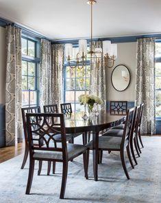 House Tour: Tim Barber, Ltd. #luxurydiningroom
