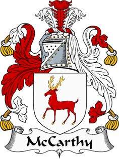 jacobs coat of arms ireland | McCarthy Clan Coat of Arms