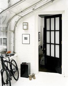 black interior doors?  sadie + stella: September 2011