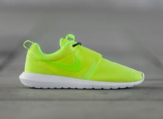 Womens Nike Roshe Run Iron Purple Tribal Green Summit White