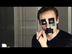 ▶ Halloween / Faschings Makeup: Creeper aus Minecraft - YouTube
