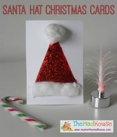 Santa Crafts Kids Can Make: 15 Fun Ideas!