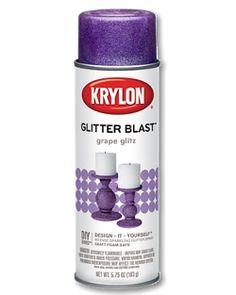 Gift ideas for the crafty person on your list!  Glitter Blast™ - | Krylon