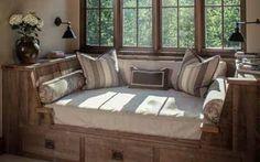 Интерьер загородного дома: 40 идей для маленькой спальни