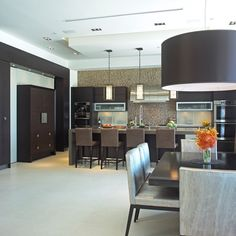 Warm + Modern + Kitchen Design, Pictures, Remodel, Decor and Ideas