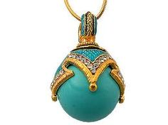 Faberge Egg Pendant/Jewelry