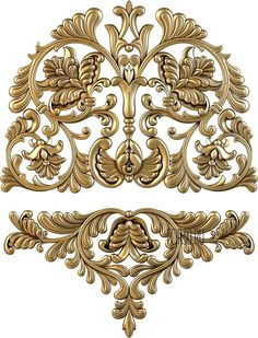 stl models for CNC Scroll Pattern, Pattern Art, Textile Prints, Textile Design, Cnc Cutting Design, Baroque Decor, Baroque Pattern, 3d Cnc, Bead Embroidery Patterns