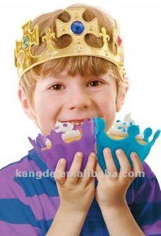 como fazer coroa de rei com reciclagem - Pesquisa Google