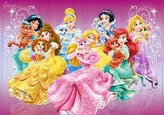 Какие милые питомцы у принцесс! Palace pets Disney princess.