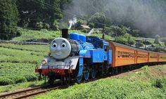 トーマスサイトトップ | 大井川鐵道を走る!きかんしゃトーマスに会いにいこう! Railroad Photography, Train Stations, Thomas The Tank, Thomas And Friends, Steam Locomotive, Natural Disasters, Model Trains, Discovery, Tourism