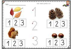 Sempre criança: Autor desconhecido Numbers Preschool, Preschool Activities, Reggio Emilia, Dora, Grande Section, Montessori, Diy And Crafts, Homeschool, Place Card Holders