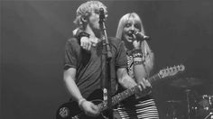 Rydel and Ross singing