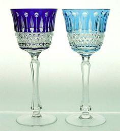 crystal dinnerware | Ardella Crystal Goblet - Fine crystal glass water goblet also ...