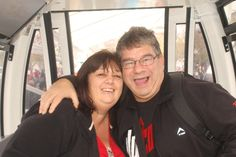 Andre & I on the Wheel of Excellence, V & A Waterfront, Cape Town