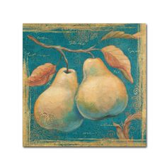 Lovely Fruits I by Daphne Brissonnet Painting Print Gallery Wrapped on Canvas