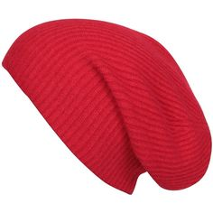 Agent Ninetynine Cashmere Sporty Beanie (30 AUD) ❤ liked on Polyvore featuring accessories, hats, beanies, red, red beanie hat, red beanie, cashmere beanie, beanie cap and beanie hats