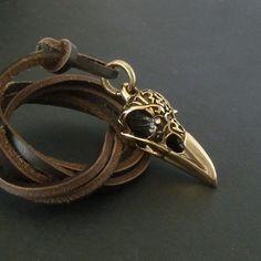 https://www.etsy.com/listing/113835159/skull-necklace-for-men-raven-skull?utm_source=Pinterest
