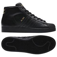 new style e1084 5f5ec adidas-pro-black-model All Black Adidas, Adidas High Tops, High