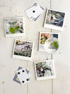 DIY Personalized Photo Coasters (An Entire Set for Less than $1) - Balancing Beauty and Bedlam