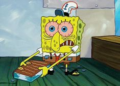Being in College As Told By Spongebob