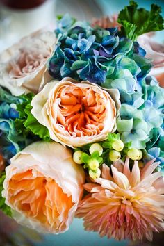 Complementary Colour Scheme this week is blue and orange….