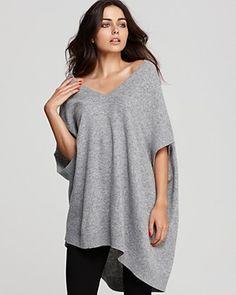 oversized fit DKNY v neck sweater