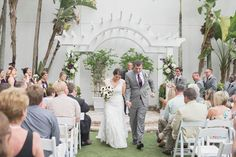 Beautiful Eggplant Wedding at Hyatt Regency Sarasota, FL