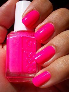 Essie's Punchy Pink: my summer fave